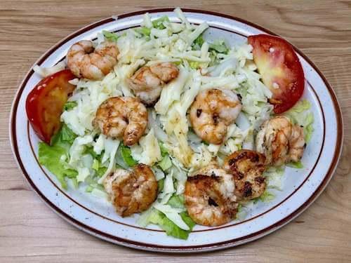 Campesina Salad with Shrimp